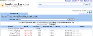 host-tracker.com website